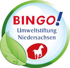 Logo der Bingo! Umweltstiftung Niedersachsen